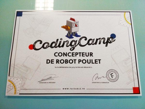 photo animation coding camp Faisable